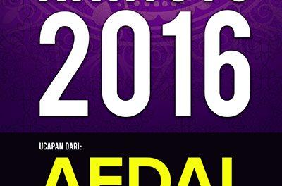 EVENTS CTC : Raya CTC.FM 2016  ( Afdal )