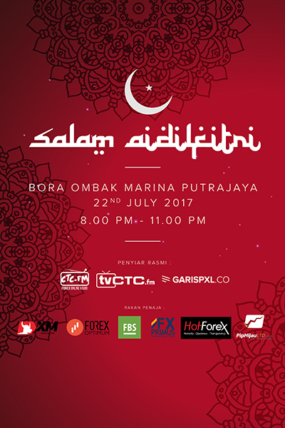 EVENTS CTC : Raya CTC.FM 2017 (Bora Ombak)