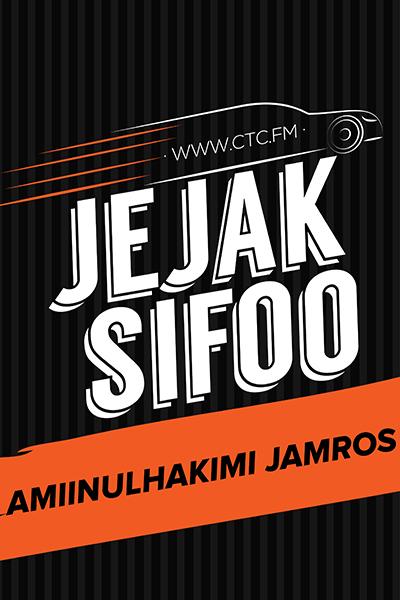 JEJAK SIFOO : Bersama Amiinulhakimi Jamros