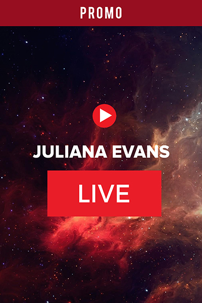 PROMO :  Live Bersama Juliana Evans