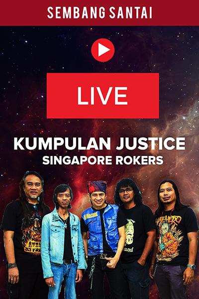 SEMBANG SANTAI : Live Bersama Kumpulan Justice (Singapore Rokers)