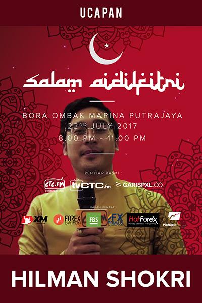 EVENTS CTC : Raya CTC.FM 2017 ( Hilman Shokri)