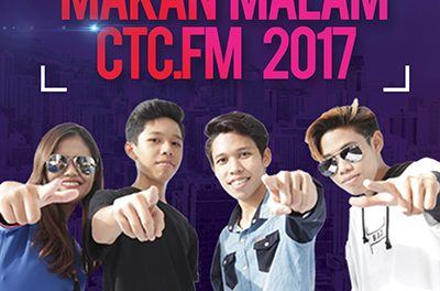 [PROMO] Majlis Makan Malam CTC.FM 2017 Artis Jemputan  – Nada Akustika