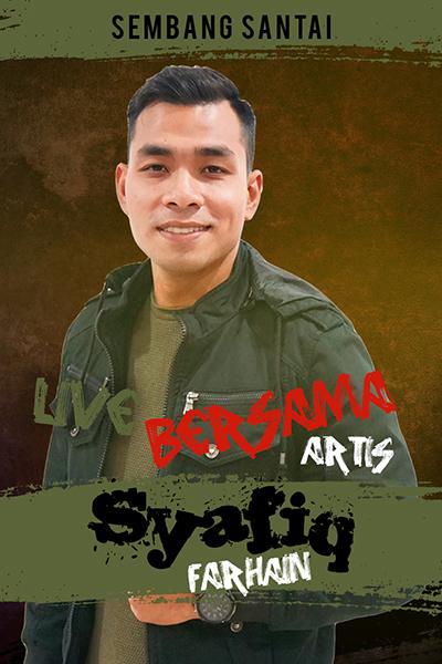 SEMBANG SANTAI  : Live Bersama Syafiq Farhain