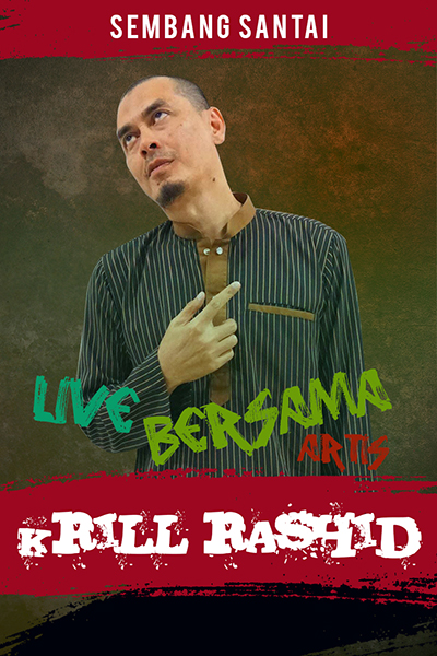 SEMBANG SANTAI : Live Bersama Krill Rashid
