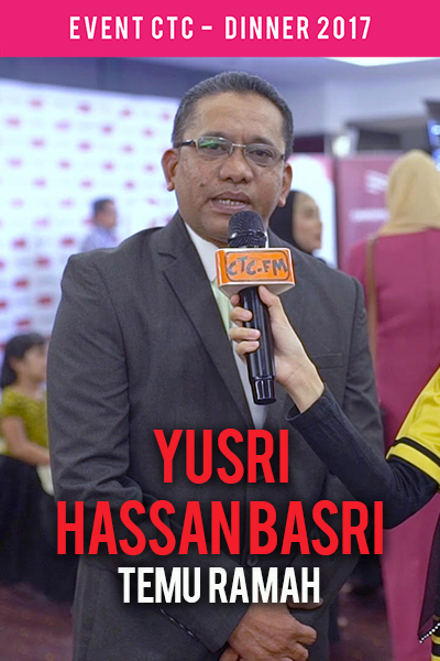 Temu Ramah bersama Yusri Hassan Basri @ Majlis Makan Malam CTC.fm 2017