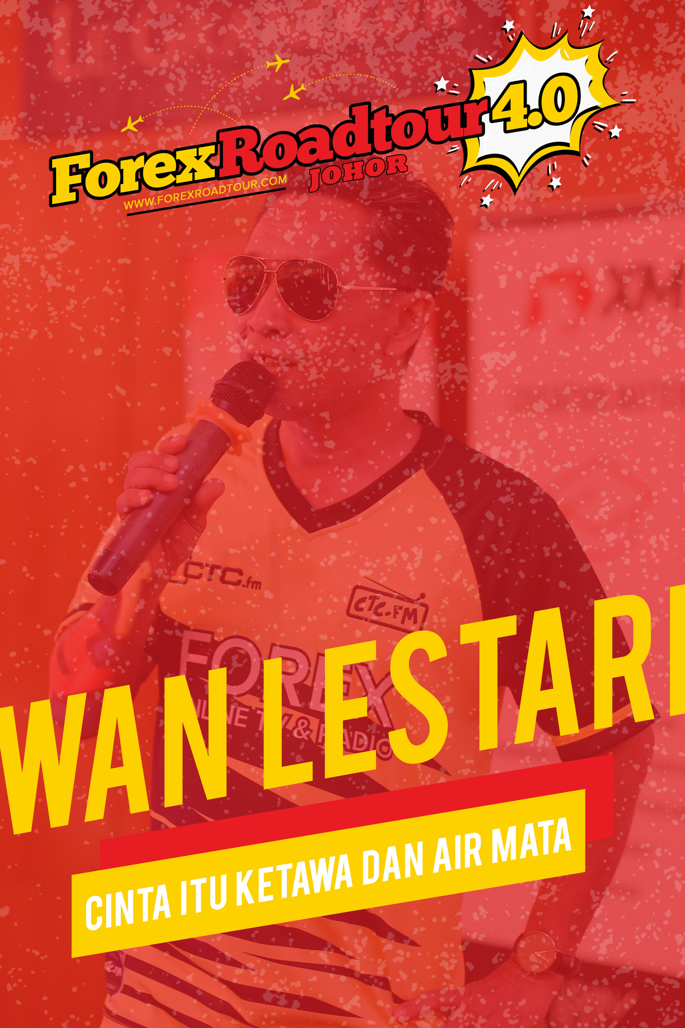 Wan Lestari - Cinta Itu Ketawa dan Air Mata [Forex Roadtour 4.0 Johor]