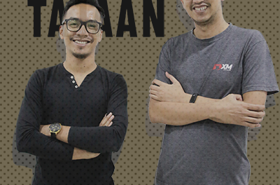 SEGMEN TAJAAN : Tajaan XM (Bersama Ahmad & Amirul XM)