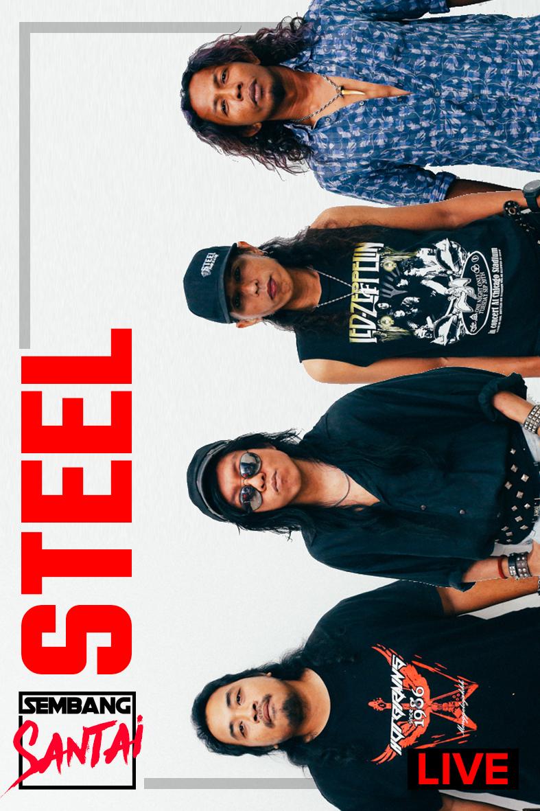 SEMBANG SANTAI : Live Bersama Kumpulan Steel