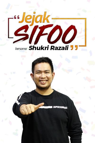 JEJAK SIFOO : Bersama Shukri Razali